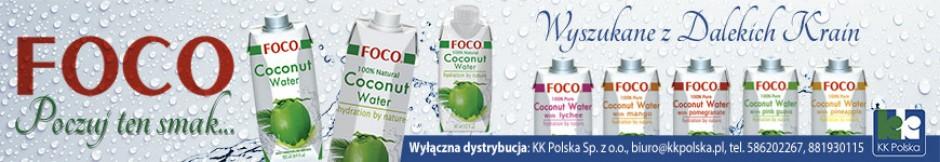 Woda kokosowa Foco